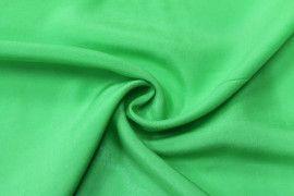 Tissu Viscose Unie Vert -Coupon de 3 metres