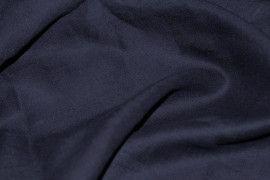 Tissu Lin Uni Marine 100% Coupon de 3 mètres