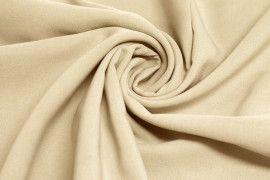 Tissu Bengaline Polyester Beige -Au Mètre