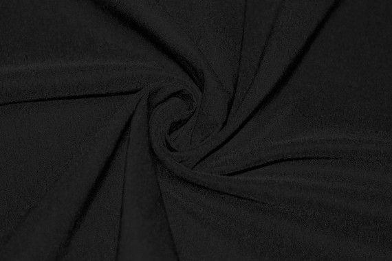 Tissu Bengaline Noire Coupon de 3 mètres