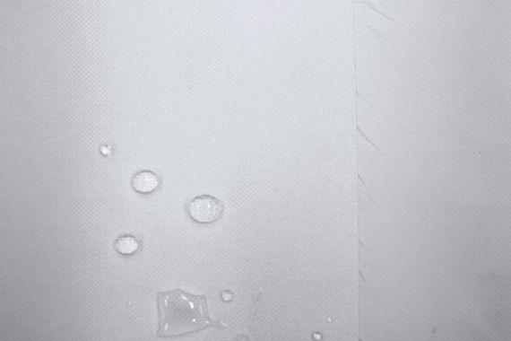 Tissu Toile Imperméable Lourde Blanc -Au Mètre