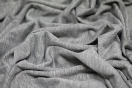 Jersey Polyviscose Gris chiné clair