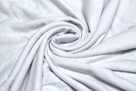 Jersey Polyviscose Blanc