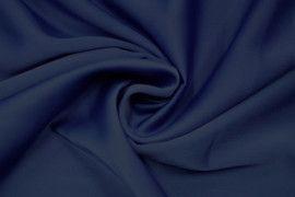 Tissu Satin Touche Soie Bleu Roi -Au Metre
