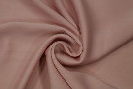 Tissu Satin Touche Soie Rose Poudre -Coupon de 3m