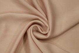 Tissu Satin Touche Soie Nude -Coupon de 3m