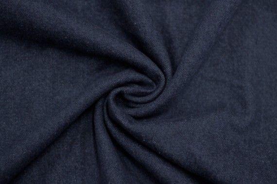 Tissu Jean Épais Bleu foncé -Au Mètre