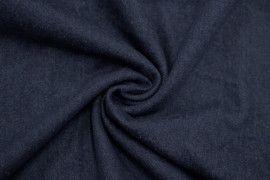Tissu Jean Épais Bleu foncé -Coupon de 3 mètres