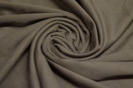 Tissu Suédine Maille Lourde Taupe Coupon de 3 mètres