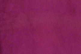 Tissu Suédine Maille Lourde Fuchsia -Au Mètre