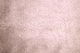 Tissu Suédine Maille Lourde Rose Pâle -Au Mètre