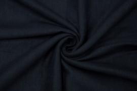Tissu Lin Viscose Marine -Coupon de 3 mètres