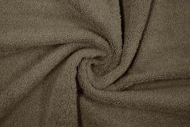 Tissu Éponge Bulky Taupe -Au Mètre