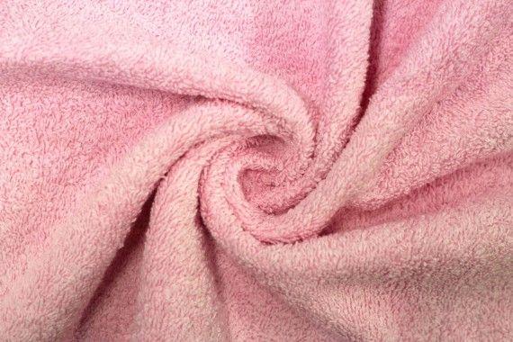 Tissu Éponge Bulky Rose -Au Mètre