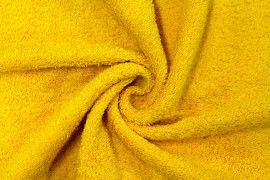 Tissu Éponge Bulky Jaune -Au Mètre