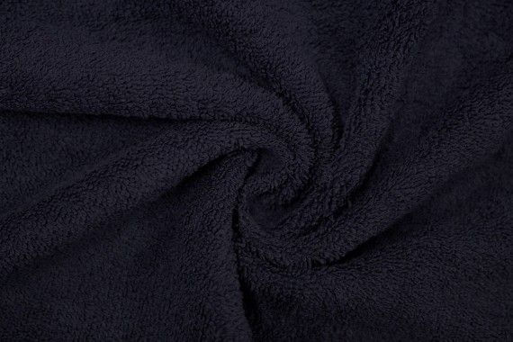 Tissu Éponge Bulky Marine -Au Mètre