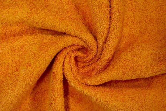 Tissu Éponge Bulky Orange -Au Mètre