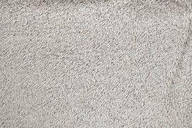 Tissu Éponge Bulky Gris clair -Au Mètre