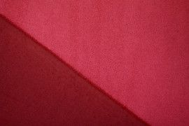 Tissu Néoprène Scuba Suédine Rouge -Au Mètre