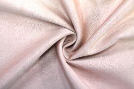 Tissu Néoprène Scuba Suédine Rose -Au Mètre