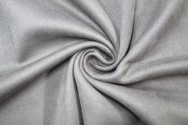 Tissu Néoprène Scuba Suédine Taupe -Au Mètre