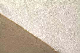 Tissu Néoprène Scuba Suédine Beige -Coupon de 3 mètres
