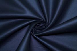 Tissu Simili Cuir envers Suédine Marine -Coupon de 3 mètres