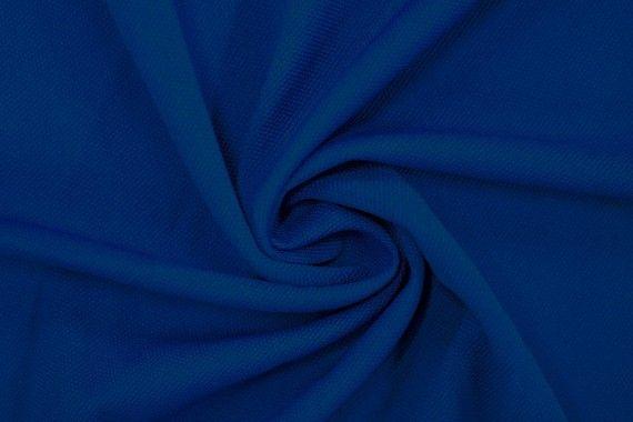 Tissu Maille Piquée Royal -Coupon de 3 mètres