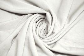"Tissu ""Lycra"" Pitch Blanc cassé -Au Mètre"