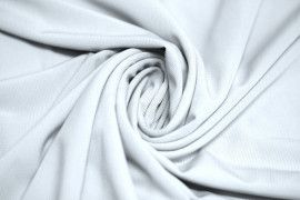 "Tissu ""Lycra"" Pitch Blanc -Au Mètre"