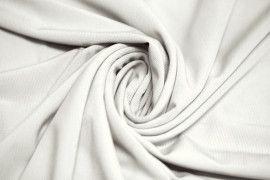 """Tissu """"Lycra"""" Pitch Blanc cassé -Coupon de 3 Mètres"""