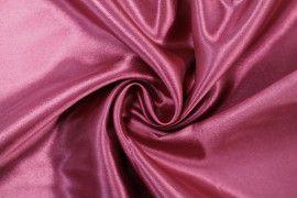 Tissu Satin Polyester Bordeaux -Au Mètre