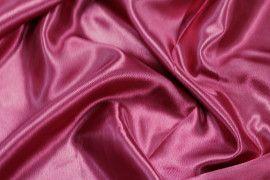 Tissu Satin Polyester Bordeaux -Coupon de 3 mètres