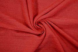 Tissu Maille Pull Antenna Rouge -Au Mètre