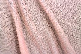 Tissu Maille Pull Antenna Rose pâle -Au Mètre