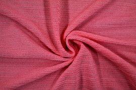Tissu Maille Pull Antenna Corail -Au Mètre