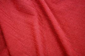 Tissu Maille Pull Antenna Rouge -Coupon de 3 mètres
