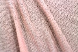 Tissu Maille Pull Antenna Rose pâle -Coupon de 3 mètres