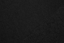 Tissu Molleton Terry Noir -Au Mètre