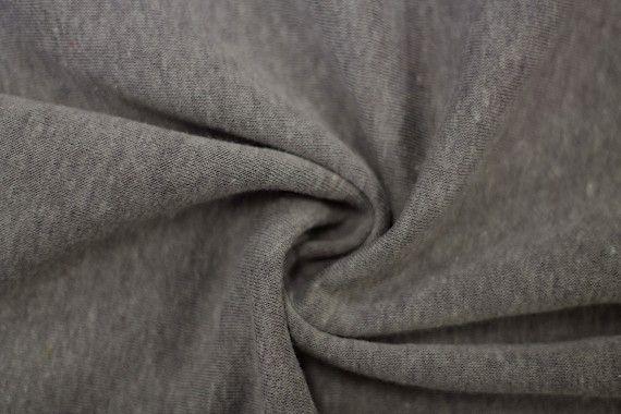 Tissu Molleton Terry Gris -Au Mètre