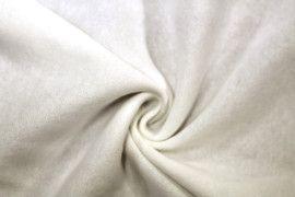Tissu Molleton Terry Ecru -Au Mètre