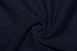 Tissu Molleton Terry Marine -Coupon de 3 mètres