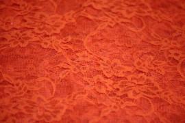 Dentelle Orange fluo