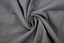 Tissu Gabardine Épaisse Gris -Au Mètre