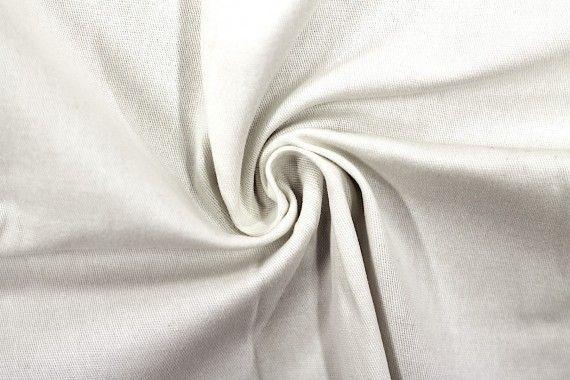 Tissu Gabardine Épaisse Ecru -Au Mètre