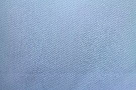 Tissu Gabardine Épaisse Bleu -Coupon de 3 mètres