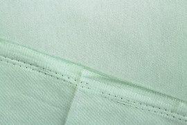Tissu Gabardine Épaisse Vert amande -Coupon de 3 mètres