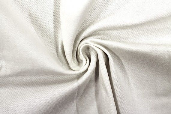 Tissu Gabardine Épaisse Ecru -Coupon de 3 mètres