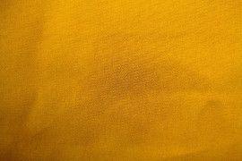 Tissu Gabardine Épaisse Safran -Coupon de 3 mètres