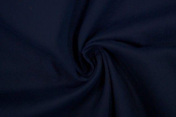 Tissu Gabardine Épaisse Marine -Coupon de 3 mètres